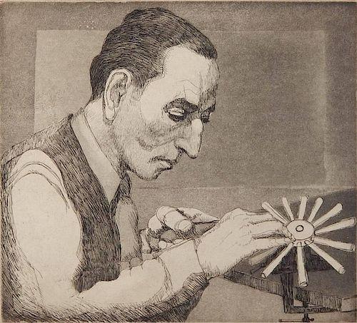 Hyman Katz aquatint