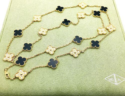 Van Cleef & Arpels  18k Diamond Vintage Alhambra 20