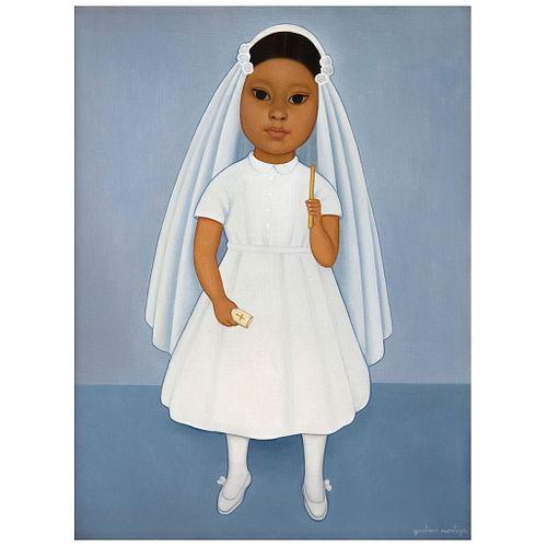 "GUSTAVO MONTOYA, Untitled, Signed, Oil on canvas, 24 x 18"" (61 x 45.5 cm)"