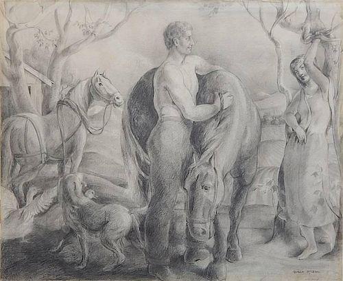 Grace Mc Lean graphite