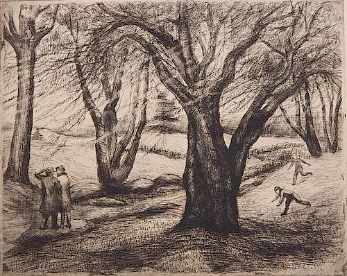 Ann Nooney etching