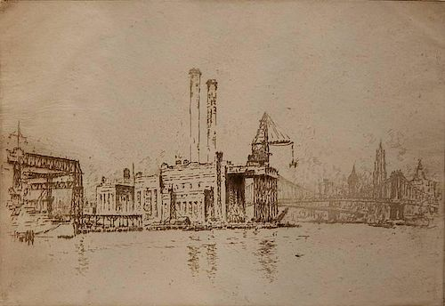 Joseph Pennell etching