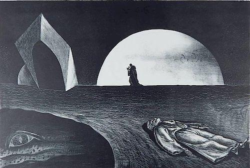 Francis Bernard Shields lithograph