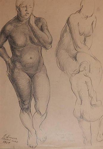 Clyde Singer graphite