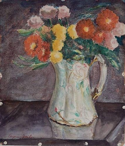Eugene Speicher watercolor