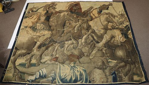 16th C. Brussels Woven Tapestry Fragment