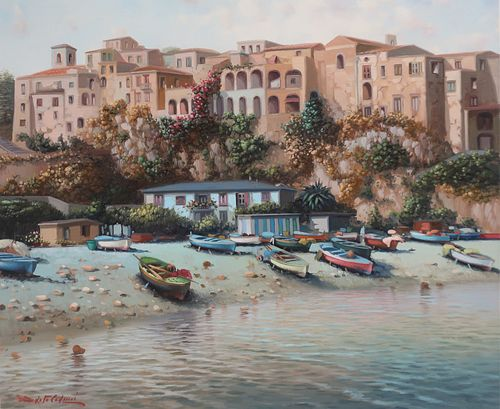 Amleto Calucci - View of Tropee