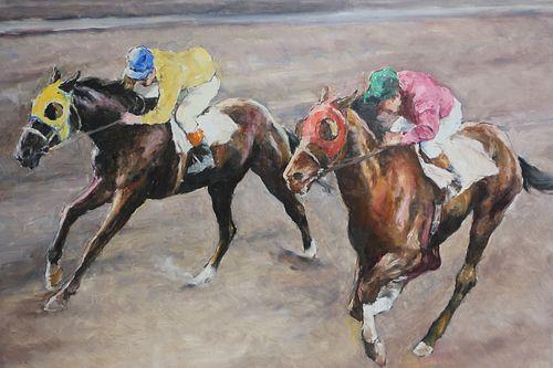 Pal Fried - Race Track (Jockeys)