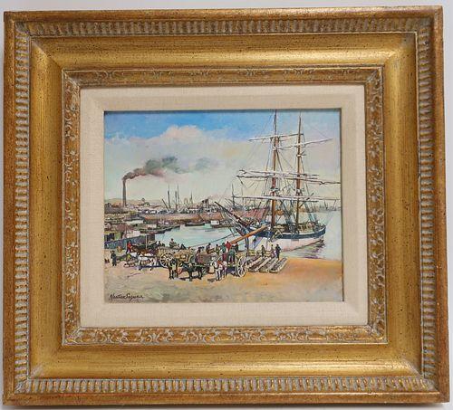 Jorge Nunez Segura - The Old Port