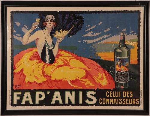 Robert Delval, Fap ANIS, lithograph