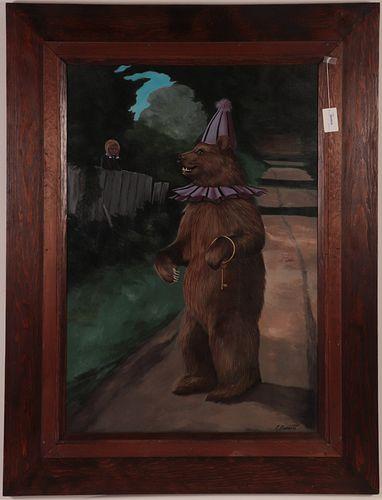 Rosemary Barrett, Circus Bear, O/C