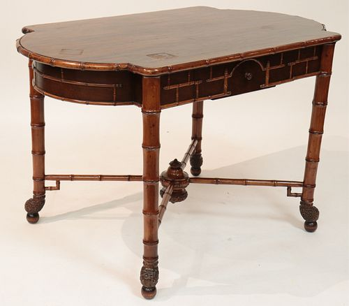 19th C. Aesthetic Movement Center Hall Table