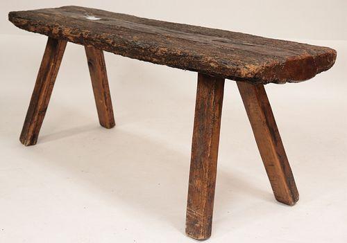 Primitive Wooden Console Table