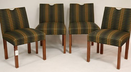 Set of 4 Edward Wormley for Dunbar Side Chairs