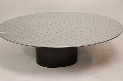 DOM Ediziuni Patch Silvered Rosewood Coffee Table