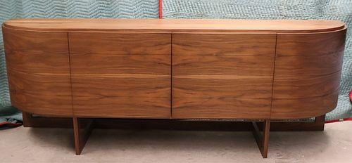 Custom Contemporary Walnut Sideboard