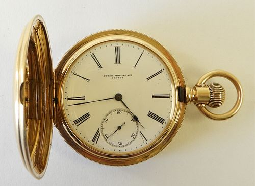Patek Philippe 18K Yellow Gold Pocket Watch