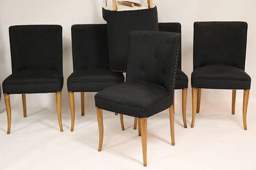 Set of 6 TH Robsjohn Gibbings for Widdicomb Chairs