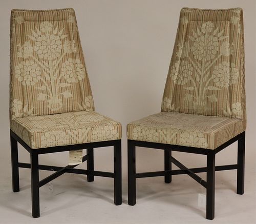 Pair Edward Wormley for Dunbar Side Chairs