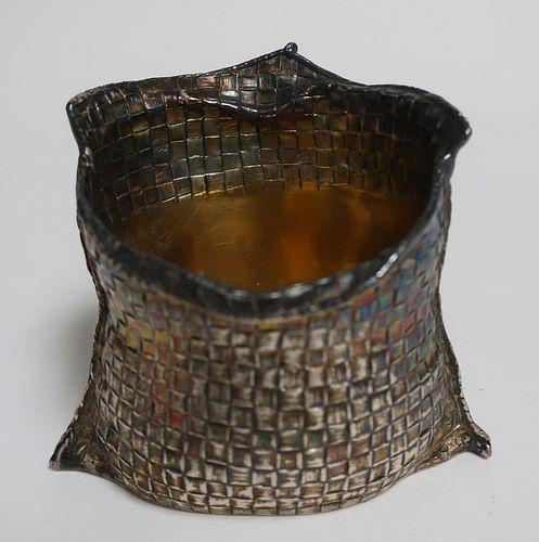 Buccellati Sterling Silver & Silver Gilt Basket