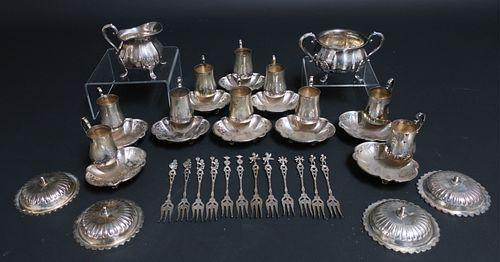 28 Pieces of .800/.830 Silver