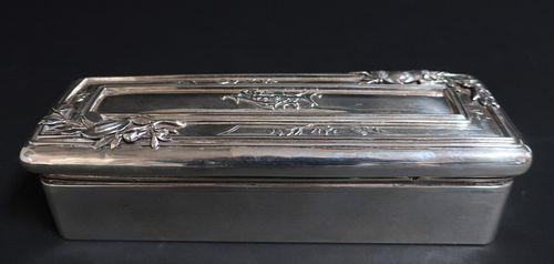 Sterling Silver Glove Box