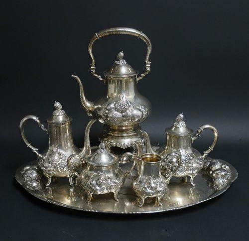 German .800 Silver Tea & Coffee Service
