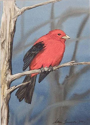 Steve Leonardi watercolor and gouache
