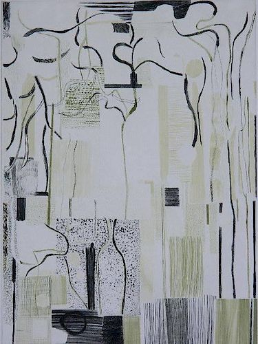 Bill Scott drypoint and roulette