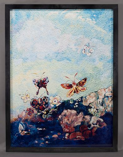 "Vik Muniz ""Butterflies, after Odilon Redon (from"