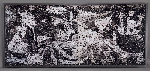 "Vik Muniz ""Guernica, after Pablo Picasso (from"