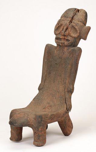 Pre-Columbian Taino Duho Ritual Wooden Seat