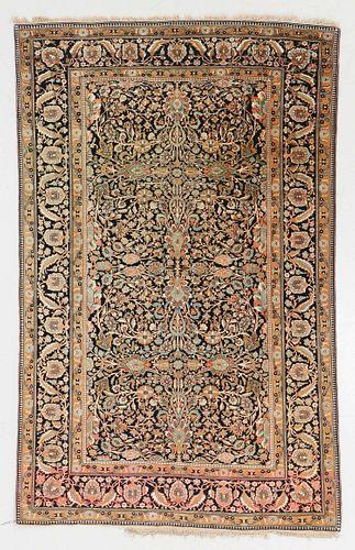 Antique Mohtasham Kashan Rug, Persia: 4'5'' x 6'10''