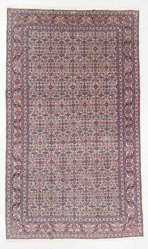 Fine Antique Dabir Kashan Wool & Silk Rug, Persia: 10'1'' x 17'1''
