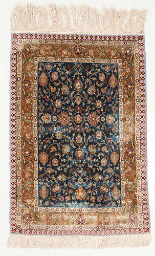 Finest Quality Shrinian Silk Rug, Turkey