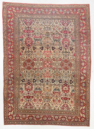 Antique Isfahan Rug, Persia: 12'2'' x 15'4''