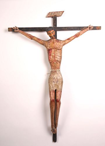 José Benito Ortega, Cristo Crucificado, ca. 1880