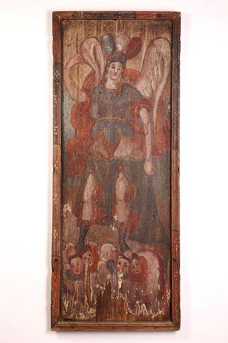 Retablo of San Rafael, Archangel, ca. 1785-1800