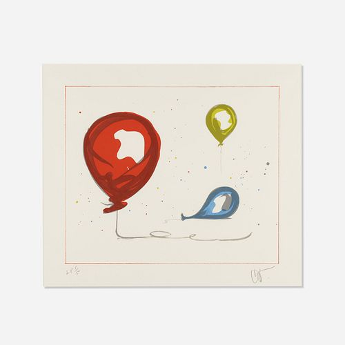 Claes Oldenburg, Balloons from The Landfall Press 30th Anniversary portfolio