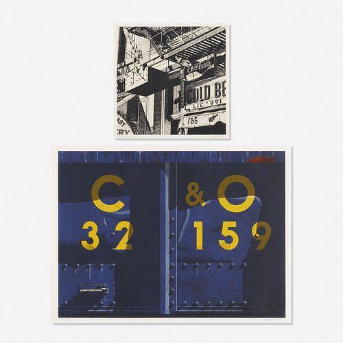 Robert Cottingham, Cold Beer; C & O (two works)