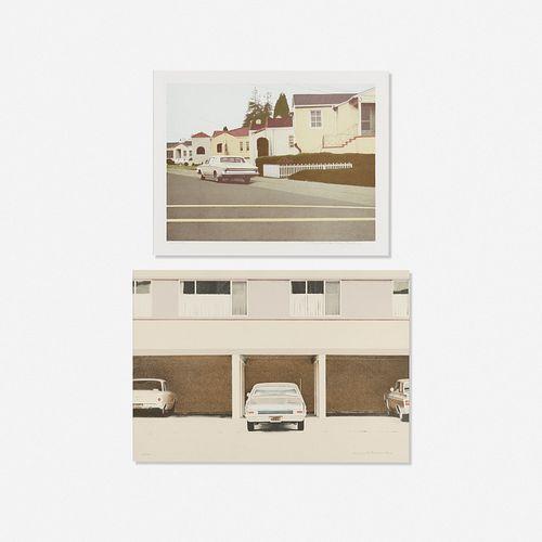 Robert Bechtle, Car No. 3 and '68 Nova (two works)