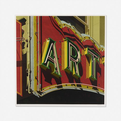 Robert Cottingham, Art