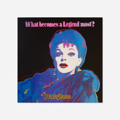 Andy Warhol, Blackglama (Judy Garland) from the Ads portfolio