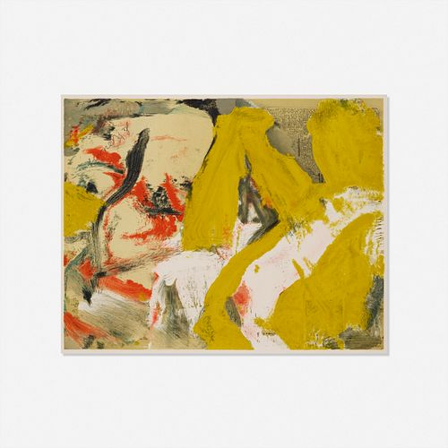 Willem de Kooning, Man and The Big Blonde