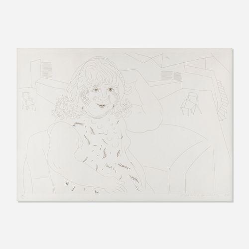 David Hockney, Ann in the Studio