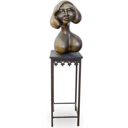 Kenneth Treister Bronze Bust
