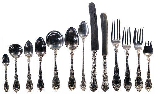 Gorham 'Paris' Sterling Silver Flatware Service for Twelve