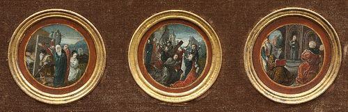 CIRCLE OF CORNELIS ENGEBRECHTSZ (DUTCH, 1460-1527), THE LIFE AND PASSION OF