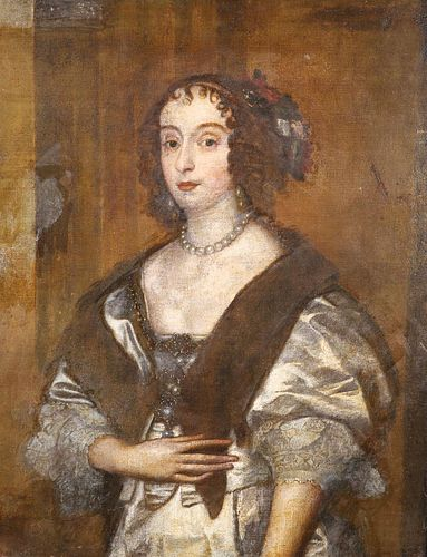 ENGLISH SCHOOL, PORTRAIT OF MARY VILLIERS
