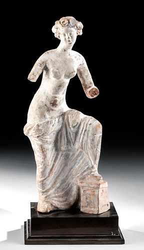 Greek Tanagra Terracotta Female Figure w/ TL Test